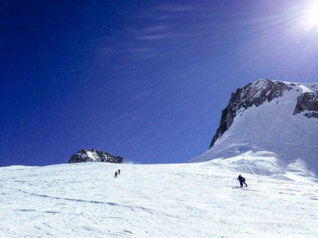 Ski-rand en Vallée blanche