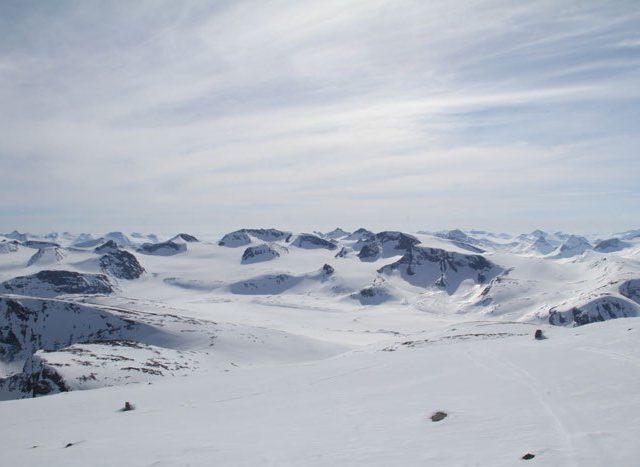 Ski-rando Jötunheimen
