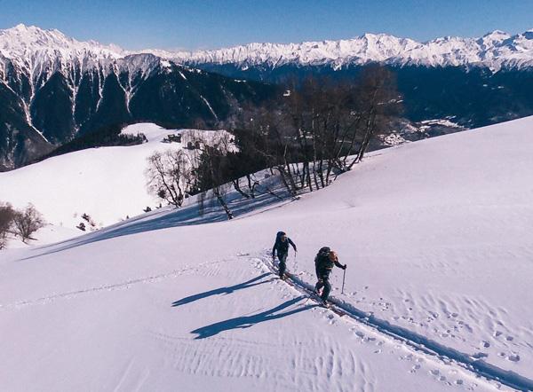 Ski-touring : La Svanétie